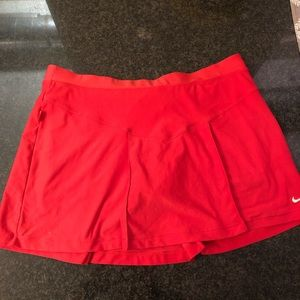 Pink Nike tennis skirt size small